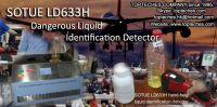 Liquid explosive detector, flammable and explosive liquid detector, portable dangerous liquid detector