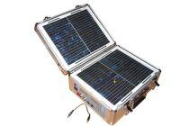 Solar portable power supply box-20W