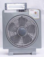 Solar fan with LED lights-HW8016G