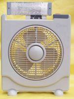 solar fan with LED lights-HW8016C