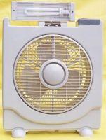 solar fan with LED lights-HW8016B