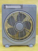 solar fan with LED lights-HW8016F