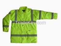 Safety Wear Hi-vis Parka Jacket
