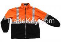 Workwear Hi Vis Fleece Jacket