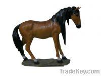 Sell horse fiberglass sculpture