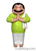 Sell fiberglass mascot