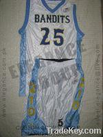 Bandits Basketball uniform