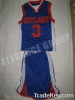 outlaws Basketball uniform