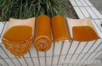 Sell Chinese antique roof tiles golden