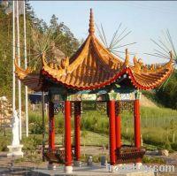 Sell ceramic roofing tiles for garden pavilion