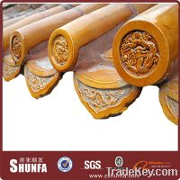Sell glazed traditional Chinese roof  tiles