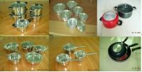 Sell aluminum and S/S cookware