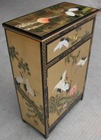 Sell  lacquer , oriental  cabinet