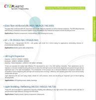 PC Light Dispersive resin