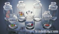Supply Glass Jar