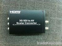 3G SDI to AV Scaler Converters With Loop-through 3G-SDI Design