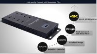 Wall Mounted 8 port HDMI Splitter 1x8