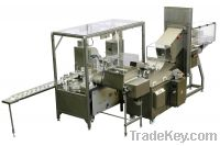 Butter/margarine re-packing line