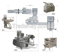 Butter re- packing  line