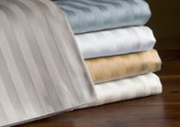 Sell duvet cover  3 cm stripes