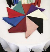 Sell Spun polyester Table clothes and Spun poly Napkins