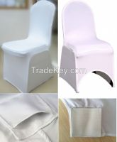 spandex chair cover, Lycra stretch banquet chair cover, spandex banquet chair cover