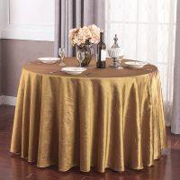 elegant taffeta crushed wedding table cloth
