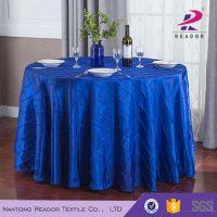 elegant pintuck taffeta table cloth