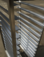 stainless steel bakery oven rack/ trolleys