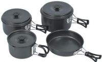 camping cookware and other equipment