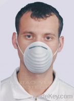 Sell White PP Dust Mask With Sigle Earloop