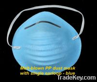 Sell Blue PP Dust Mask With Single Earloop
