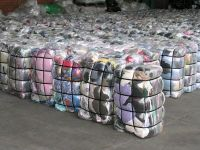 Rags for industrial cleaning
