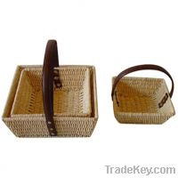 Sell corn rope baskets