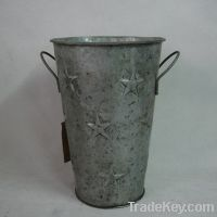 Sell metal flower pail