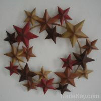 Sell metal star wreath