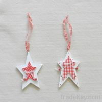 Sell wooden hanging star