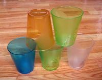 Sell plastic forsted cup