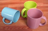 Sell plastic cup with handle(8513)