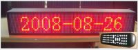 Sell P7.62mm LED moving sign