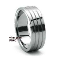 tungsten bracelet wedding ring