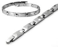 tungsten carbide men jewelry wedding band bracelet