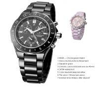hi-tech material ceramic chnorograph watches