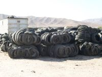 SELLING BALED WASTE TIRES $15.00 fob price per ton