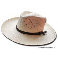 Semicalado Grueso Montecristi Panama Hat