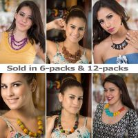 Bundle Necklaces And Earrings jc002 - Handmade EcoIvory Tagua Jewelry