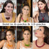 Bundle of Necklaces and Earrings jc001 - Handmade EcoIvory Tagua Jewelry