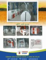 Turn-Key Wheat Flour Maize Plants / Mills of 90 ton per day