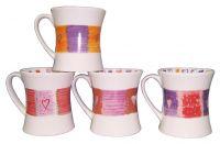 Sell Mug, Stoneware Mug, Coffee Mug(RF-Slim)