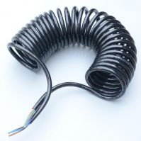 V-line light duty powercoils ABS cable  7-way